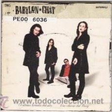 CDs de Música: CD-SG BABYLON CHAT (AVISPA 2002). Lote 41384403