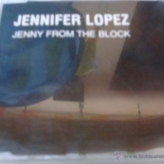 CDs de Música: JENNIFER LOPEZ- JENNY FROM THE BLOCK (PEDIDO MINIMO 4€) 436. Lote 41386228