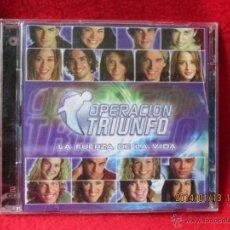 CDs de Música: OPERACIÓN TRIUNFO (LA FUERZA DE LA VIDA) 2 CDS. Lote 156892382