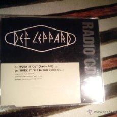 CDs de Música: DEF LEPPARD - WORK IT OUT - CD SINGLE - RADIO CD. Lote 41428313