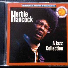 CDs de Música: HERBIE HANCOCK, A JAZZ COLLECTION - CD. Lote 41444305