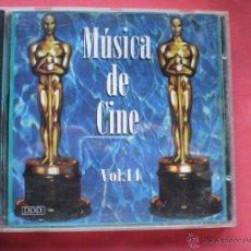 CDs de Música: CD ALBUM / MUSICA DE CINE VOL 14 VER FOTO ADICIONAL PEPETO. Lote 41448946