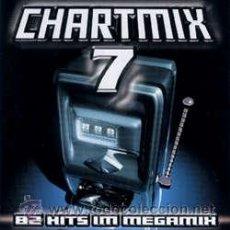 CDs de Música: CHARTMIX 7 .82 HITS IM MEGAMIX. DOBLE CD - HAMBURG - 2000. 82 TEMAS. RARO Y DIFÍCIL.CALIDAD LUJO.. Lote 41462701