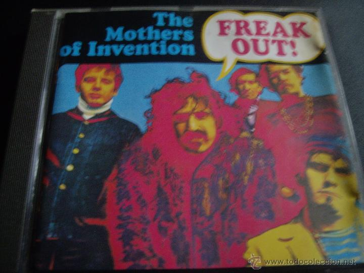 THE MOTHERS OF INVENTION-FREAK OUT (Música - CD's Rock)