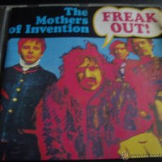 CDs de Música: THE MOTHERS OF INVENTION-FREAK OUT. Lote 41464748