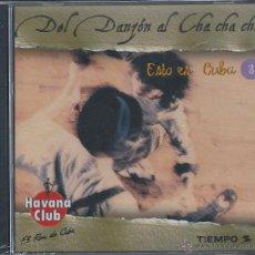 CDs de Música: DEL DANZÓN AL CHA-CHA-CHÁ. Lote 41467793