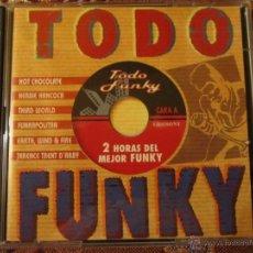 CDs de Música: CD DOBLE DE TODO FUNKY- 0RIGINAL DEL 96- 20 TEMAS- NUEVO A ESTRENAR-MADE IN AUSTRIA. Lote 41470726