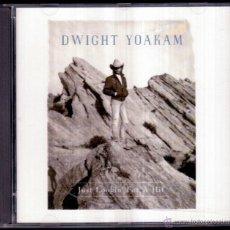 CDs de Música: DWIGHT YOAKAM - JUST LOOKIN' FOR A HIT - GERMAN CD REPRISE 1989 - COMO NUEVO. Lote 41480833