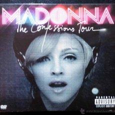CDs de Música: MADONNA, THE CONFESSIONS TOUR - CD + DVD DIGIPAK. Lote 41515393