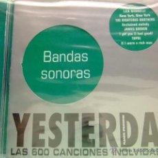 CDs de Música: CD MUSICA YESTERDAY (COLECCIÓN DE PLANETA)12 BANDAS SONORAS CON LIZA MINNELLI - DORIS DAY + OTROS. Lote 41516067