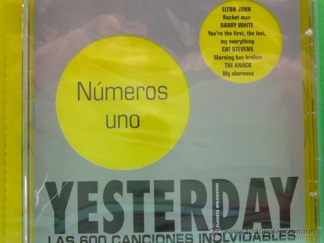 CDs de Música: CD YESTERDAY (colección de planeta)13 NUMEROS UNO - Elton John - David Bowie - Rod Stewart + otros - Foto 2 - 41516582