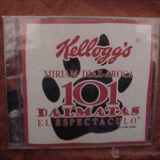CDs de Música: 101 DALMATAS EL ESPECTACULO. MIRIAM DIAZ - AROCA. CD KELLOGG'S PRECINTADO. Lote 41522752