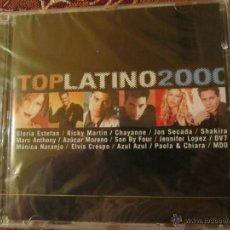 CDs de Música: CD TOP LATINO 2000- ORIGINAL DEL 2000- PLASTIFICADO DE FCA. -15 TEMAS.- ARTISTAS FAMOSOS.. Lote 41551774