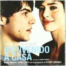 CDs de Música: B.S.O. ORIGINAL * BIENVENIDO A CASA *. JAVIER LIMÓN. DESCATALOGADA. PRECINTADA.. Lote 25427275