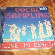 CDs de Música: VOCAL SAMPLING. LIVE IN BERLIN. CD 1998. Lote 41565050