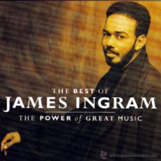 CDs de Música: JAMES INGRAN - THE POWER OF GREAT MUSIC, THE BEST OF... - CD. Lote 41568175