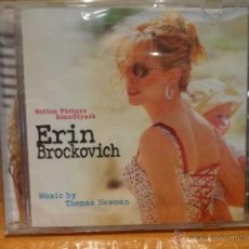 CDs de Música: B.S.O. !! ERIN BROCKOVICH / MOTION PICTURE SOUNDTRACK. CD / SONY - 23 TEMAS / PRECINTADO.. Lote 41577435