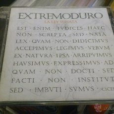 CDs de Música: EXTREMODURO LEY INNATA CD . Lote 41590440