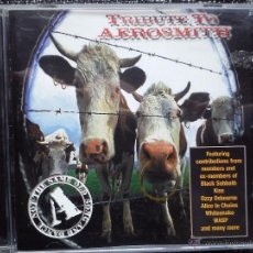 CDs de Música: TRIBUTE TO AEROSMITH. NOT THE SAME OLD SONG AND DANCE. CD EAGLE RECORDS. 1999. DIO. TED NUGENT.. Lote 41606008