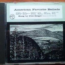 CDs de Música: AMERICAN FAVORITE BALLADS.SUNG BY PETE SEEGER. Lote 41608545