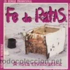 CDs de Música: CD-SG FE DE RATAS SOLO ERA UN SALVAJE/¡ASESINO! (STO.GRIAL 2001). Lote 41610386