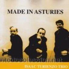 CDs de Música: CD ISAAC TURIENZO TRIO MADE IN ASTURIES (KM-444 1993). Lote 41620453