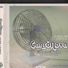 CDs de Música: CANÇÓ NOVA A CAPPELLA. LIEDER CÀMERA. VOL. 1 2010. CD LLIBRE-CARPETA. Lote 41630850