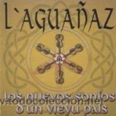 CDs de Música: CD LOS NUEVOS SONIOS D'UN VIEYU PAIS (L'AGUAÑAZ 1999). Lote 41639673