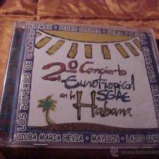 CDs de Música: 2º CONCIERTO EUROTROPICAL SGAE EN LA HABANA. CD 1998. Lote 41664994