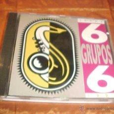 CDs de Música: 6 GRUPOS 6 JEREZ. VARIOS. AYUNTAMIENTO DE JEREZ 1993. CD PROMOCIONAL. Lote 41665081