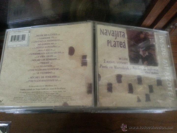 CD NAVAJITA PLATEA , INCLUYE 2 NUEVAS VERSIONES POETA EN MARRAKESH Y NOCHES DE BOHEMIA ALBA MOLINA (Música - CD's Otros Estilos)