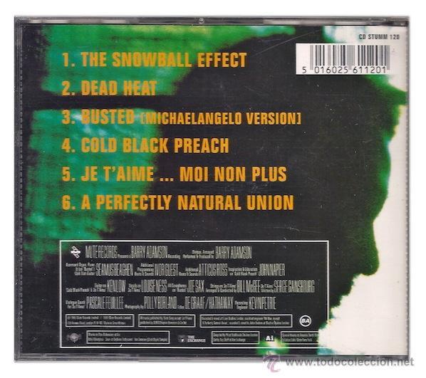 CDs de Música: Barry Adamson - The Negro Inside Me (CD EP) - Foto 2 - 41678143
