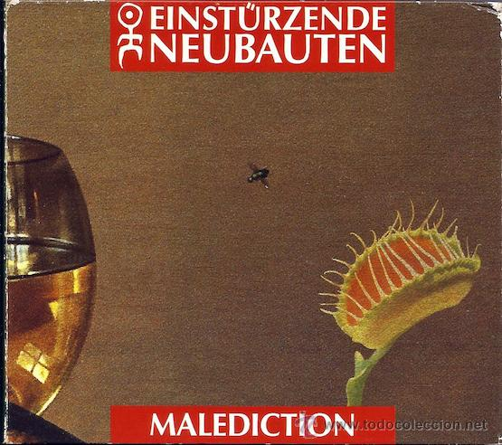 CDs de Música: Einsturzende Neubaten - Malediction (CD Digipack cartón) - Foto 1 - 41698483