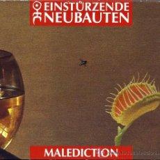 CDs de Música: EINSTURZENDE NEUBATEN - 'MALEDICTION' (CD DIGIPACK CARTÓN). Lote 41698483