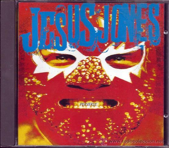 JESUS JONES - 'PERVERSE' (CD) (Música - CD's Otros Estilos)