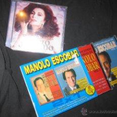 3 Cd Tributo Póstumo Rocío Jurado Manolo Escobar Canciones Millonarias