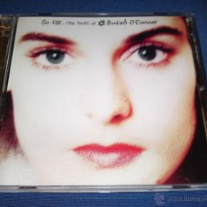 CDs de Música: SINEAD O'CONNOR - SO FAR - THE BEST OF SINEAD O'CONNOR - CHRYSALIS RECORDS LTD. 1997. Lote 41707043