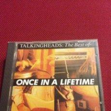 CDs de Música: TALKING HEADS - THE BEST OF TALKING HEADS: ONCE IN A LIFETIME - CD. Lote 41709202