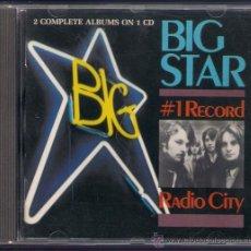 CDs de Música: BIG STAR - 1 RECORD (1972)/ RADIO CITY (1973) - CD BIG BEAT 1990. REEDICIÓN ALEMANA.. Lote 41712171