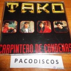 CDs de Música: TAKO CARPINTERO DE CONDENAS CD SINGLE DEL AÑO 1993 PORTADA DE PLASTICO 1 TEMA HEAVY METAL RARO. Lote 41715088