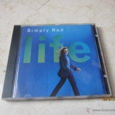 CDs de Música: SIMPLY RED - LIFE CD - WARNER 1995. Lote 41720069