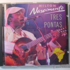 CDs de Música: CD MILTON NASCIMENTO - TRES PONTAS. Lote 41722537