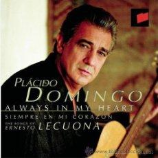CDs de Música: PLACIDO DOMINGO.SIEMPRE EN MI CORAZON. CD. Lote 41759426