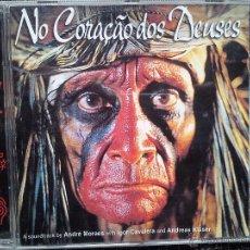 CDs de Música: NO CORAÇAO DOS DEUSES. CD SUM RECORDS 8639-2. ESPAÑA 2002. IGOR CAVALERA. ANDREAS KISSER. SEPULTURA.. Lote 41760200