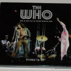 CDs de Música: THE WHO: LIVE AT THE ISLE OF WIGHT FESTIVAL 1970 2 CDS INCLUYE POSTER *IMPECABLE*. Lote 41774423
