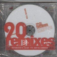 CDs de Música: 20 REMIXES. LOS REMIXES QUE TE DESLUMBRARAN TRIPLE CD. 2 CD'S. 2004. NUEVO PRECINTADO. Lote 41793723