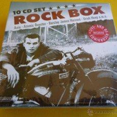 CDs de Música: ROCK BOX - 10 CD´S - ASIA / ATOMIC ROOSTER / ULTRAVOX / URIAH HEEP … - PRECINTADA. Lote 41818977