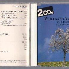 CDs de Musique: MOZART - MARSCH KV 214 + KV 215, HORNCONCERT KV 417 + ....( 2CD VIENNA MASTER SERIE ). Lote 41838744
