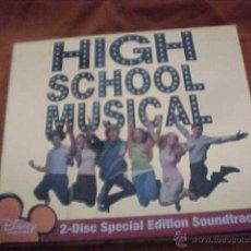 CDs de Música: HIGH SCHOOL MUSICAL. DISNEY CHANNEL. 2 CD EDICION ESPECIAL. EDICION USA. Lote 41875671