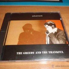 CDs de Música: JULIUSMONK - THE GREEDY AND THE THANKFUL GRUPO BARCELONES DIFICIL NUEVO PRECINTADO. Lote 42012780
